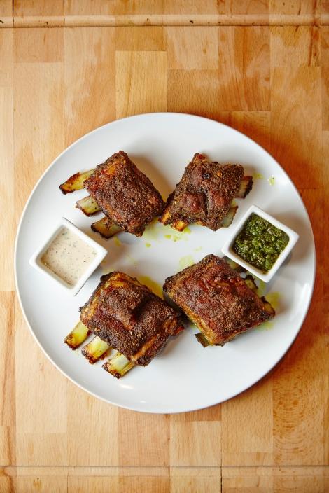 Slow-Roasted Lamb Riblets
