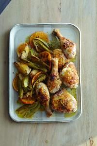 Modern Jewish Cooking_Roast Chicken with Fennel and Orange