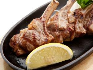 veal rib chops